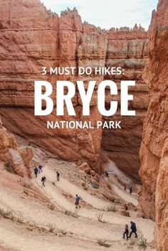 3 Must-do Hikes in Bryce National Park https://wellcaffeinatedtraveller.com/2016/12/21/3-must-do-hikes-in-bryce-national-park/?utm_campaign=coschedule&utm_source=pinterest&utm_medium=The%20Full-Time%20Tourist&utm_content=3%20Must-do%20Hikes%20in%20Bryce%20National%20Park