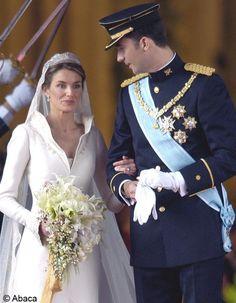 le mariage du prince Felipe d Espagne et Letizia Ortiz