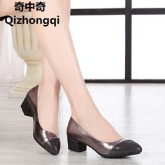 36.84$  Buy now - http://aliyfm.shopchina.info/1/go.php?t=32797506510 - 2017 spring and autumn new genuine leather women shoes shallow mouth casual fight color soft bottom mother work shoes female  #magazine