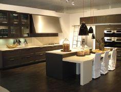 Beautiful White And Brown Kitchen Cabinet Design Id672  German Amusing Modern German Kitchen Designs Design Decoration