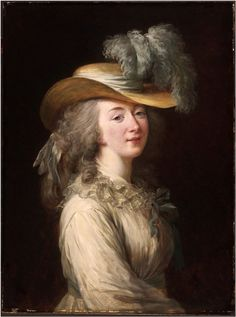 Madame du Barry (1781, Philadelphia Museum of Art, Philadelphie)…