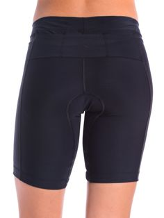 Women's Triathlon Shorts Black with 8  I must have these - my size back ordered until end of June :(
