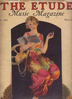 June 1933 Etude magazine by katinthecupboard, via Flickr