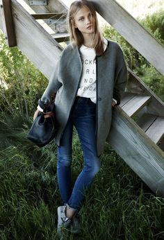 Anna Selezneva for Madewell Fall 2014