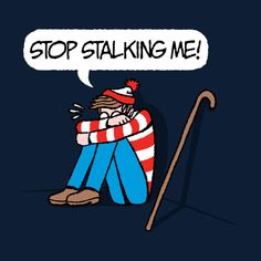 Waldo Striped & Stalked T-Shirt
