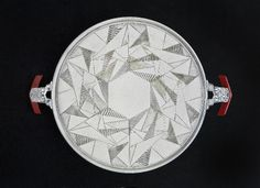 Tray, 1928, Designed by Albert F. Saunders. (The Wolfsonian–Florida International University, Miami Beach, Florida, Gift of Jewel Stern)