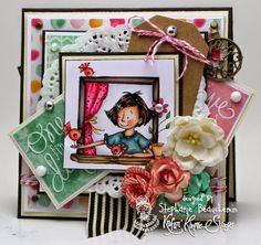 A World of Creative Possibilities: Kraftin' Kimmie Stamps : New release day 3, It's a beautiful day!