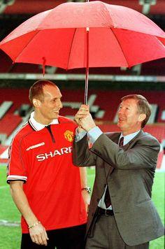 Jaap Stam & Sir Alex Ferguson
