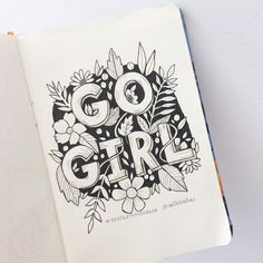 Doodle Lettering, Hand Lettering Quotes, Brush Lettering, Doodle Quotes, Doodle Art, Calligraphy Letters, Typography Letters, Bullet Journal Font, Drawing Quotes