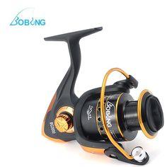 Sale 26% (17.69$) - BOBING Spinning Fishing Reel 5:2:1 10 1BB Metal Left/Right Interchangeable Hand  Spool Reel