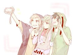 Kano, Kido, and Seto | Kagerou Project