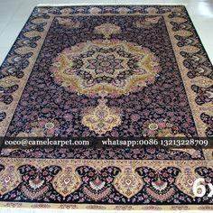 fine China silk persian carpet Size:6x9-183x274cm whatsapp:008613213228709 coco@camelcarpet.com