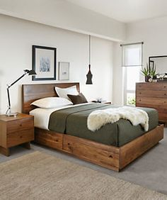 Hudson Bed with Storage Drawers - Storage Beds - Beds - Bedroom - Room & Board