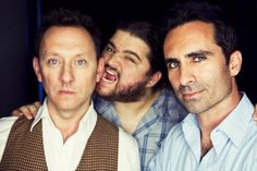 LOST- Michael Emerson, Jorge Garcia, Nestor Carbonell  Yeah, probably three of my most favorite people EVER.