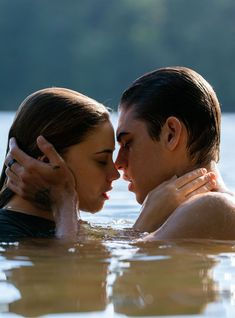 Exclusive: Watch the Sexy AF Lake Scene From (The Harry Styles. - Exclusive: Watch the Sexy AF Lake Scene From (The Harry Styles Fanfic-Inspired Movi - Movie Couples, Cute Couples, Harry Styles, Kindle Unlimited, Travel Movies, After Movie, Hessa, Netflix Streaming, Romance Movies