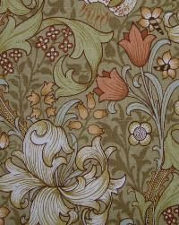 'Golden Lily' pattern, designed by William Morris.  The Arts & Crafts Home
