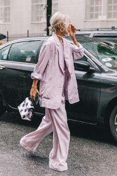 Spring Summer 2019 Street Style from New York Fashion Week by Collage Vintage #newyorkfashion