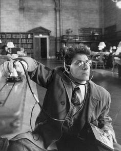 """Harold Ramis in """"Ghostbusters"""" (1984)."""