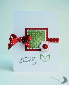 777 best birthday stampin up cards images on pinterest handmade love the simplicity m4hsunfo