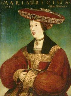 Hans Maler zu Schwaz (1490–1530), Mary of Habsbourg, Queen of Austria, 1520