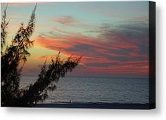 Beach Sunset Photograph by Aimee L Maher - Beach Sunset Fine Art Prints and Posters for Sale photography by Aimee L Maher http://aimee-maher.artistwebsites.com/featured/beach-sunset-aimee-maher.html Landscape sunset beach nature photo fine art home décor gift $37