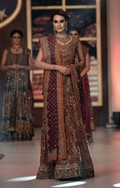 HD Photos: Pakistan Fashion Bridal Couture Week 2015 Lahore in HD Pictures