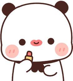 Panda Gif, Panda Bear, Cute Cartoon Pictures, Cartoon Images, Cute Love Gif, Pretty And Cute, Cute Bear Drawings, Romantic Couples Photography, Chibi Cat