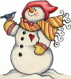 Christmas Snowman Clip Art Free - ClipArt Best | Holidays and ...
