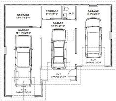 Car dimensions in feet for 1 5 car garage size