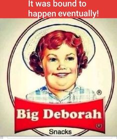 I laughed way to hard at this! Big Deborah Snacks - We all knew eventually it would catch up with her, just like it did with us. The struggle is real! Can't Stop Laughing, Laughing So Hard, I Love To Laugh, Make You Smile, Smile Smile, Lil Diabeetus, Big Deborah, Funny Quotes, Funny Memes