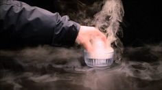 Create Your Own Dry Ice EffectUsing The Ice Cage From Chillistick
