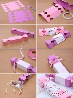homemade valentine gift wrapping ideas paper candy box