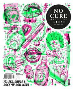 NoCure Cover | Illustrator: Andrew Fairclough of Kindred Studio