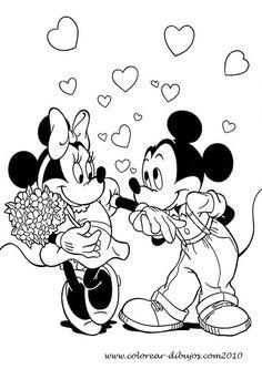 Walt-Disney-Mickey-Mouse-Minnie-Mouse-