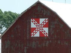 In My World . . .: Canada Day Road Trip on the Barn Quilt Trail ~ Path Through The Woods, Verschoyle, Ontario