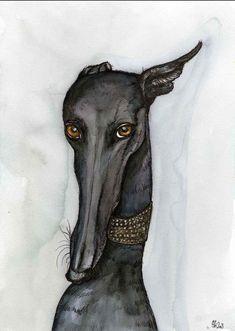 dog illustration // Hello friend.