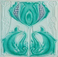 Marsden c1904 - RS0576* - Art Nouveau Tiles