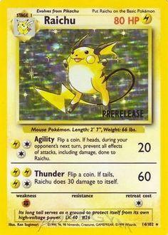 pokemon cards original series