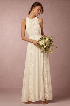 Lovely BHLDN Chandler Dress in Bride Reception Dresses at BHLDN