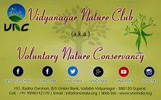 Stay connected, updated by following us on various Social Media platforms. #vncindia #environment #education #nature #npo #not_for_profit #ngo #conservation #wildlife #awareness #gujarat #501C