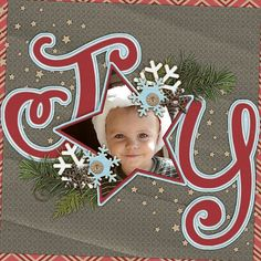 Joy- Kits: Home For Christmas from Ladybug Scraps and Temptations Remix Vol. 6 from Wendy Tunison Designs