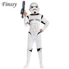 Star Wars Costume for Boys The Force Awakens Storm Troopers Cosplay Costume for Kids     Tag a friend who would love this!     FREE Shipping Worldwide   Brunei's largest e-commerce site.    Buy one here---> https://mybruneistore.com/star-wars-costume-for-boys-the-force-awakens-storm-troopers-cosplay-halloween-costume-for-kids-carnival-party-dress-with-mask/