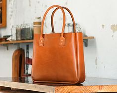 Leather Tote Bag Large Australian CarryAll door patersonsalisbury