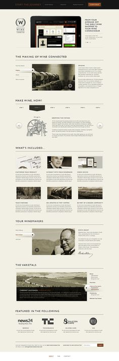 Wine Connected by Emile Rohlandt, via Behance