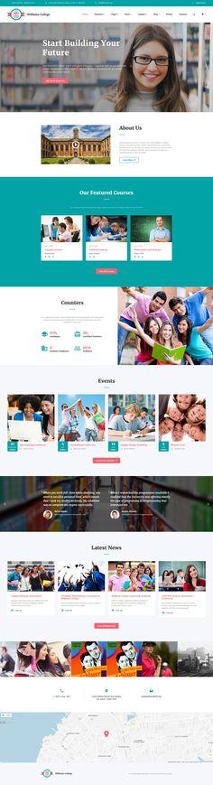 Education Responsive Website Template - http://www.templatemonster.com/website-templates/education-responsive-website-template-61185.html