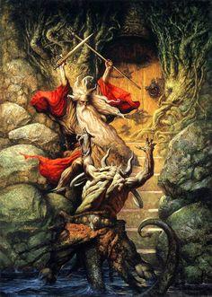 Gandalf by Petar Meseldzija