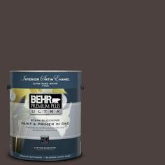 """my bathroom cabinet paint color. LOVE IT!!! BEHR   """"Bitter Chocolate""""  - The Home Depot"""