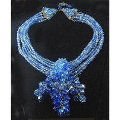 Rare COPPOLA e TOPPO ITALY Crystal Necklace BIJOUX LO-SA Prototype | Collectors Weekly