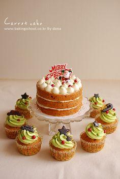 토끼가 잃어버린 케이크  carrot cake! 와우~~먹음직스러운 컵케익!! 집나간 토끼도 돌아올듯^^