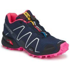 Παπούτσια για τρέξιμο Salomon SPEEDCROSS 3 W μπλέ / Foné / Black / Pink / Fluoue-Μαύρο-Fluo / PINK Salomon Speedcross 3, Salomon Shoes, Half Marathon Training, Running Workouts, Sport Wear, Shoe Sale, Asics, Me Too Shoes, Running Shoes